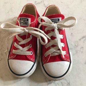 Baby/Toddler CONVERSE Tennis Shoes Sz 7